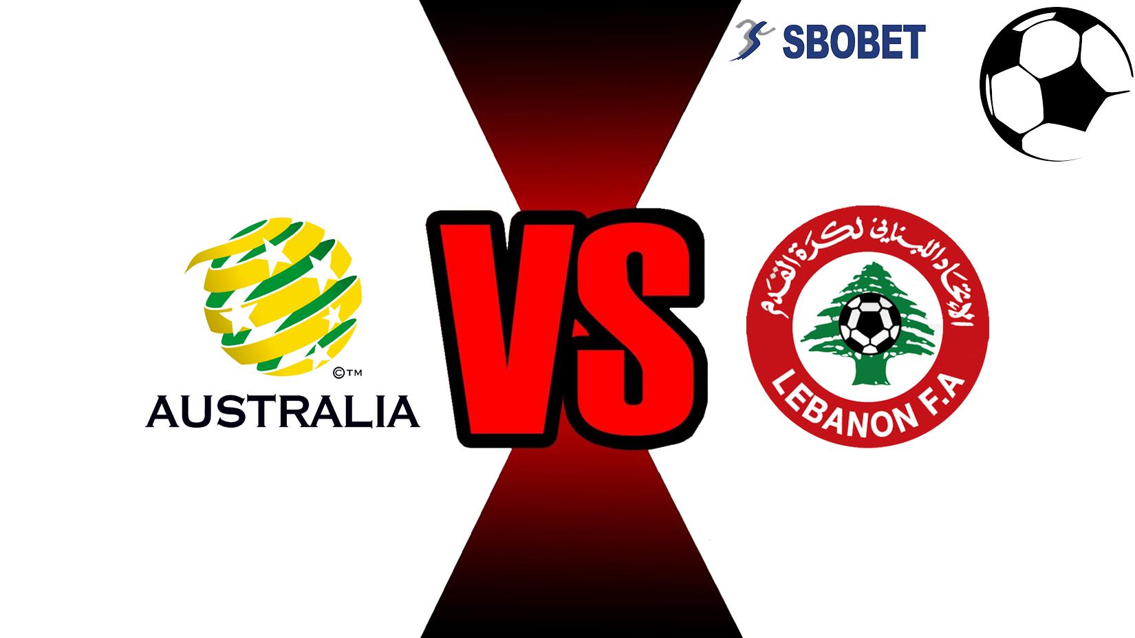 Prediksi Skor Bola Online Australia VS Lebanon 20 November 2018