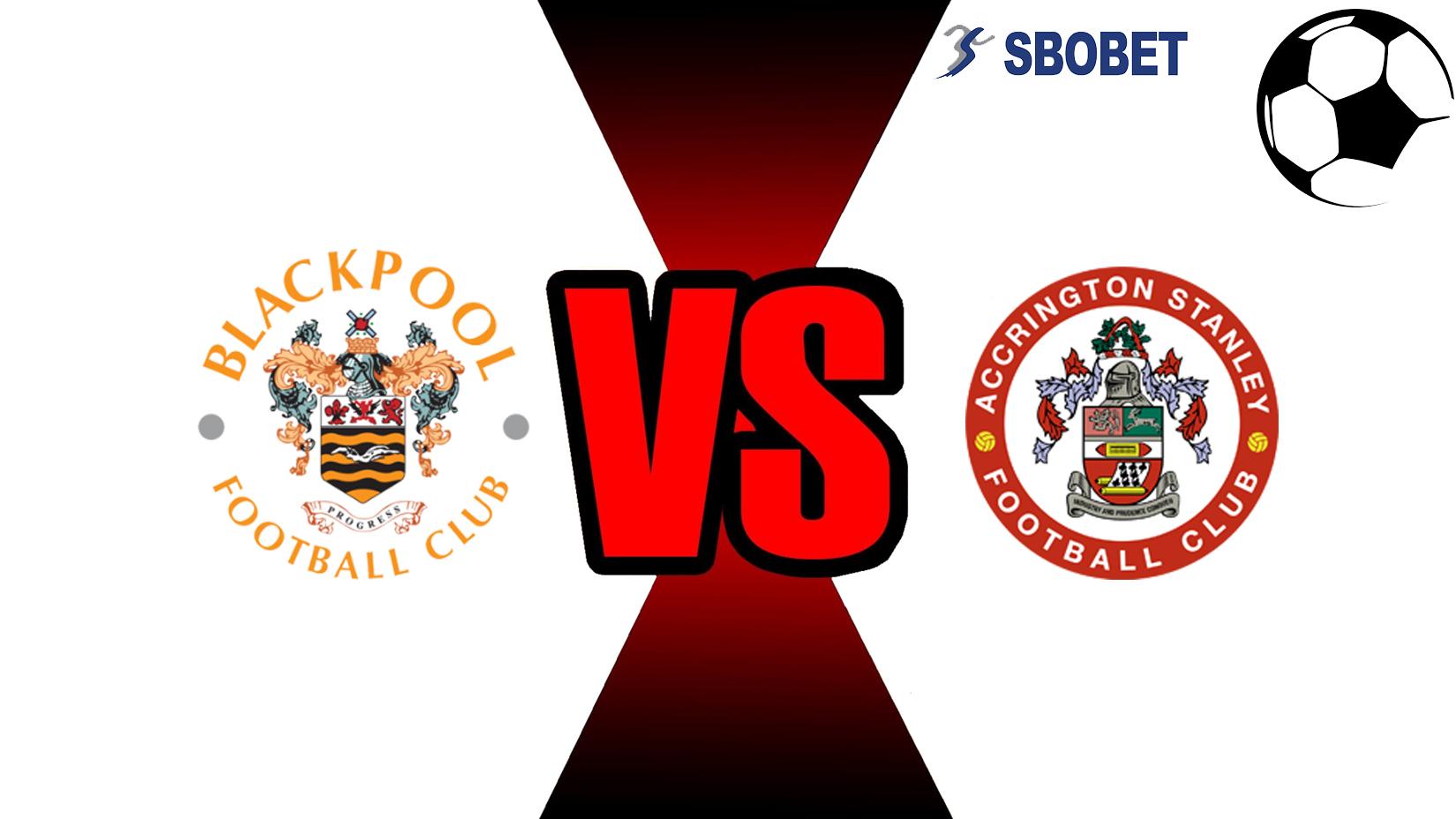 Prediksi Skor Bola Online Blackpool Vs Accrington Stanley 14 November 2018