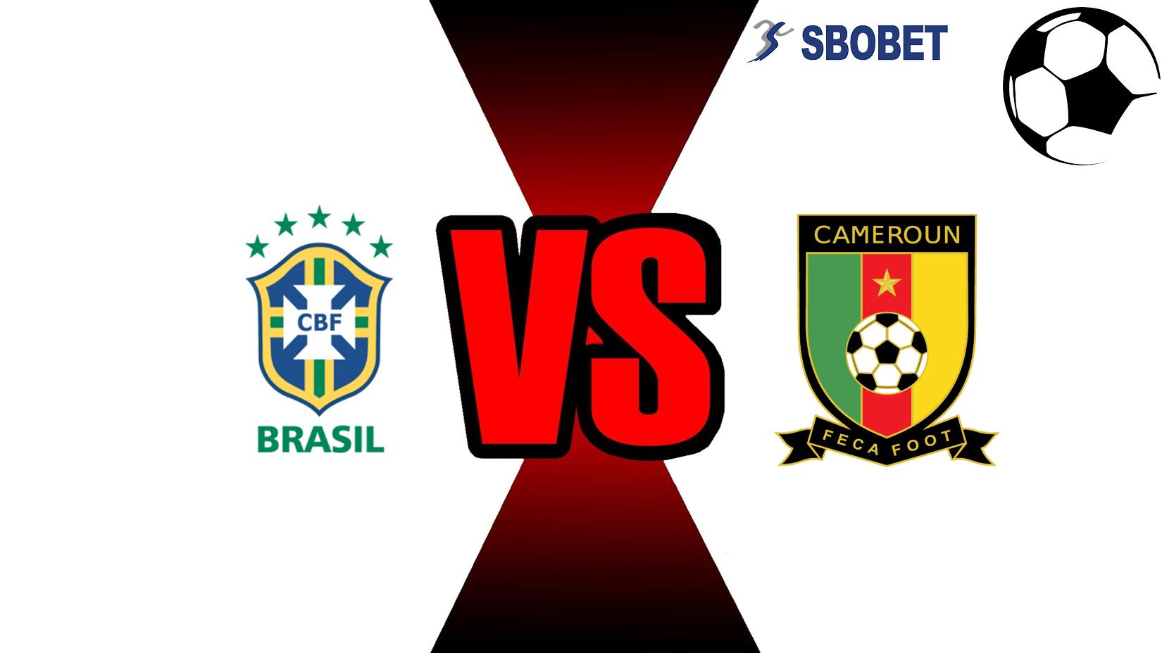 Prediksi Skor Bola Online Brazil Vs Cameroon 21 November 2018