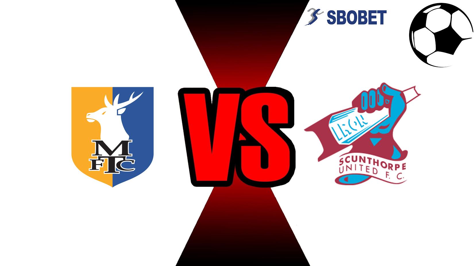 Prediksi Skor Bola Online Mansfield Town Vs Scunthorpe United 14 November 2018