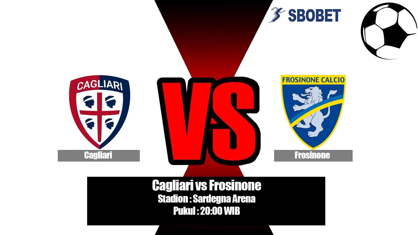 Prediksi Bola Cagliari vs Frosinone 20 April 2019