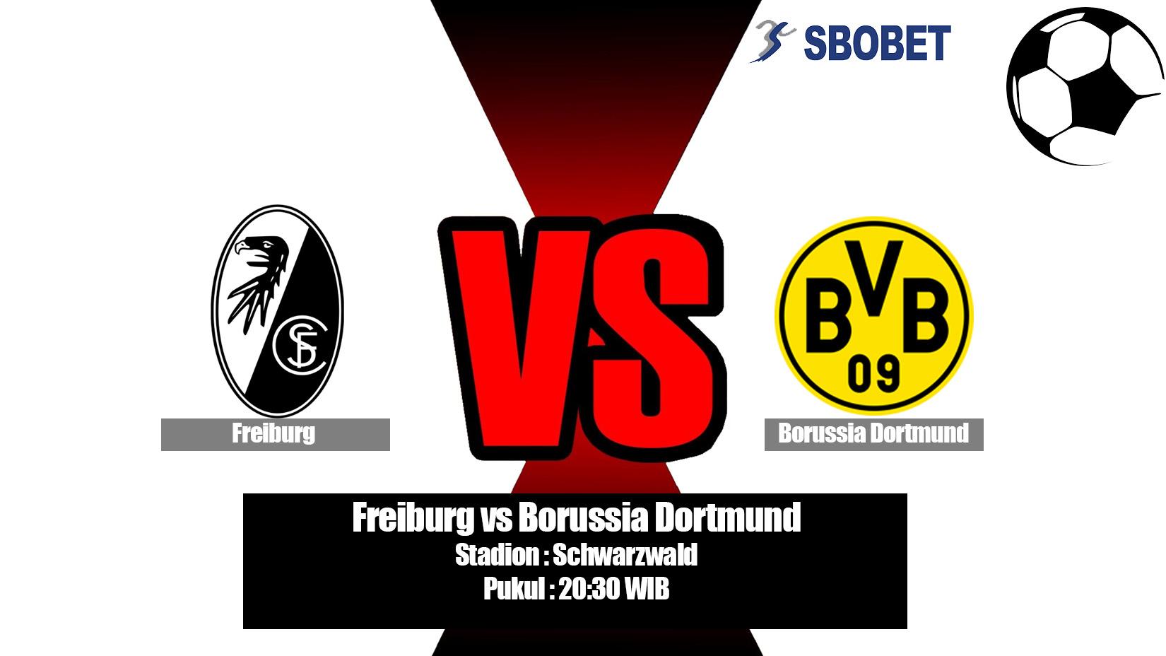Prediksi Bola Freiburg vs Borussia Dortmund 21 April 2019