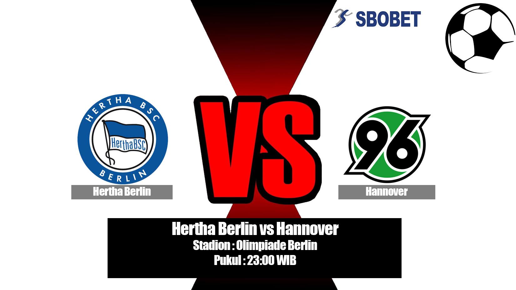 Prediksi Bola Hertha Berlin vs Hannover 21 April 2019