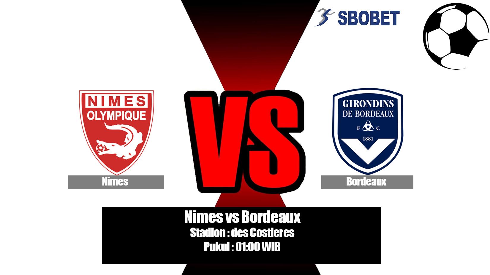 Prediksi Bola Nimes vs Bordeaux 21 April 2019
