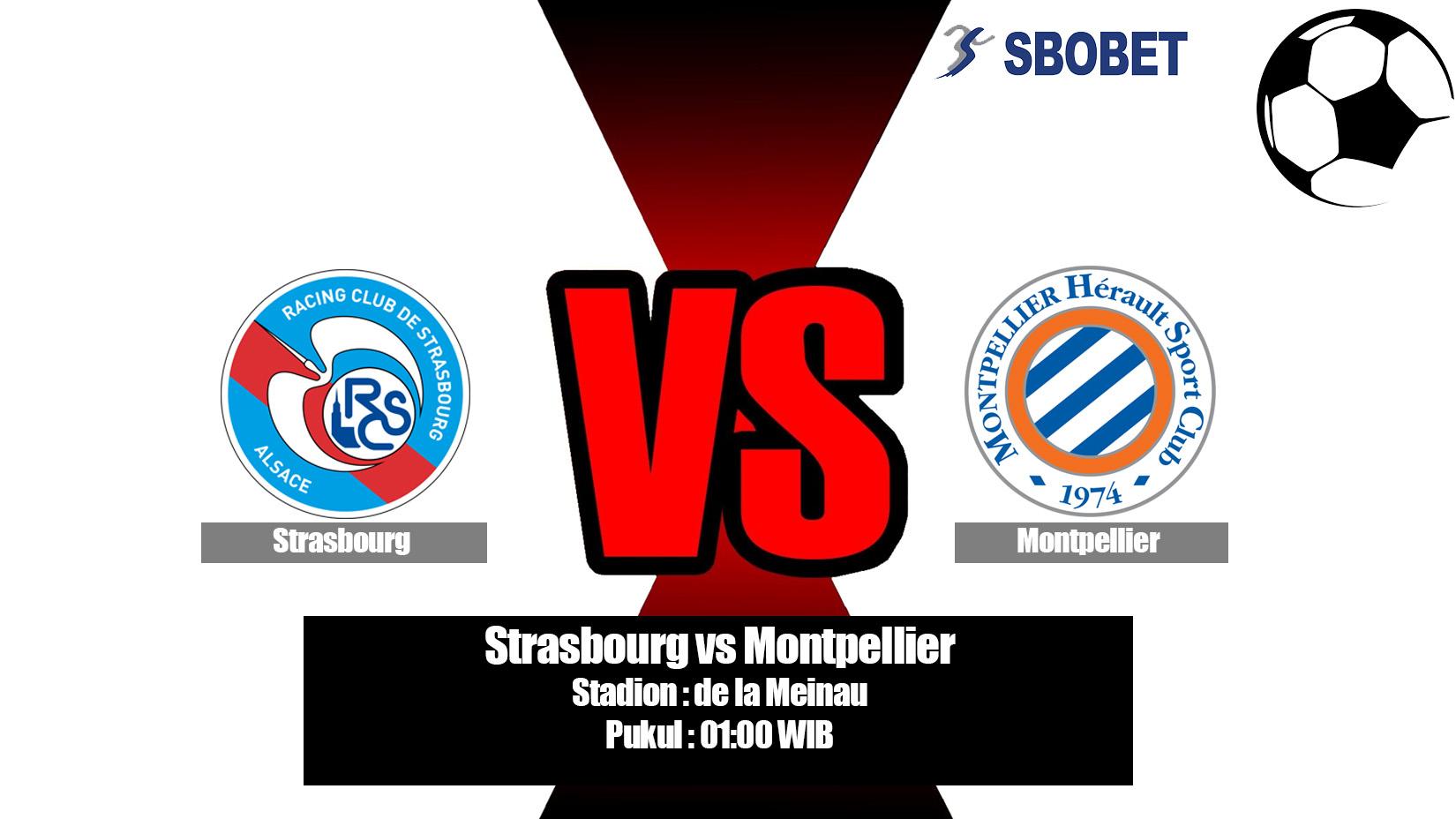 Prediksi Bola Strasbourg vs Montpellier 21 April 2019