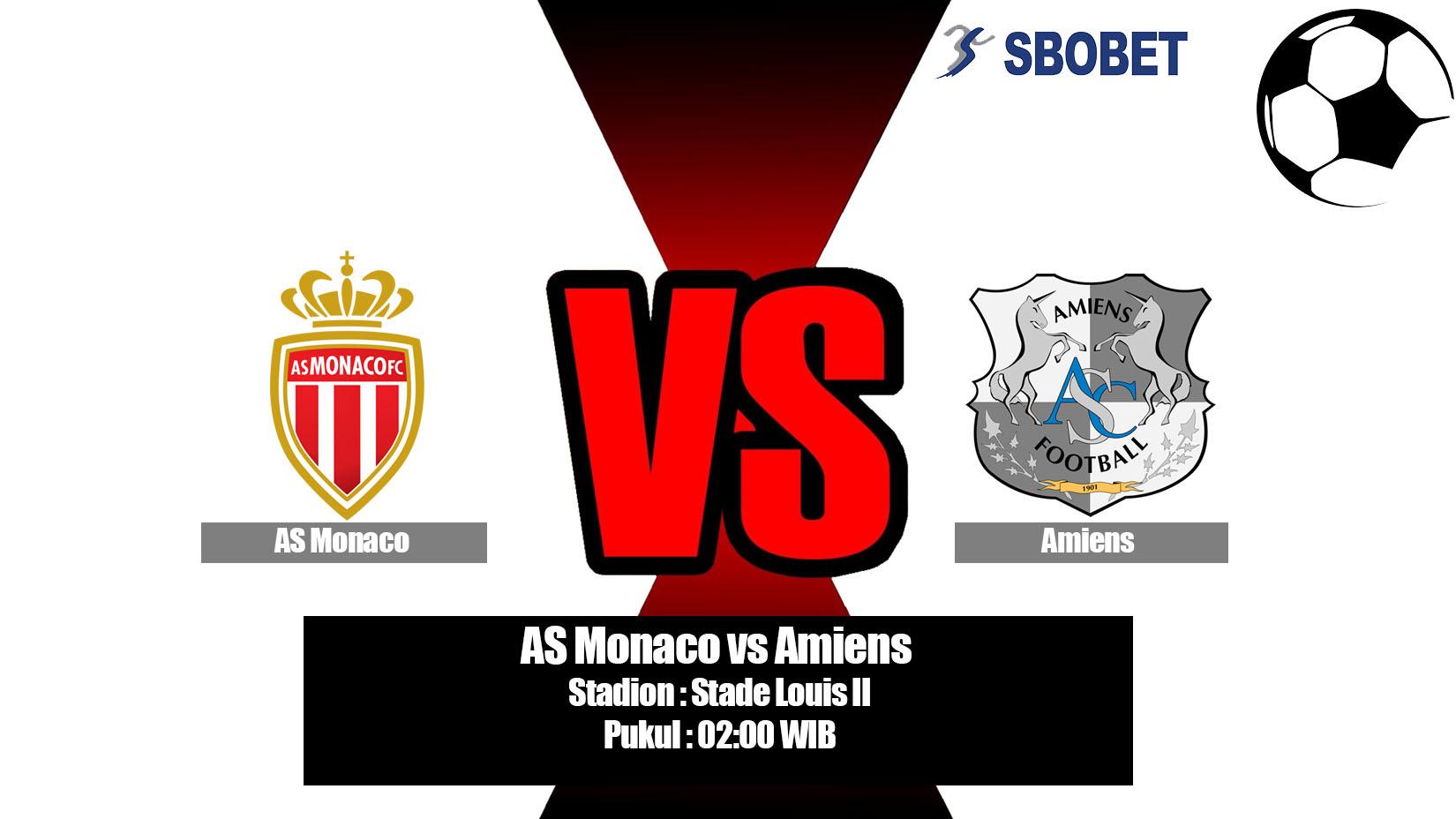 Prediksi Bola AS Monaco vs Amiens 19 Mei 2019