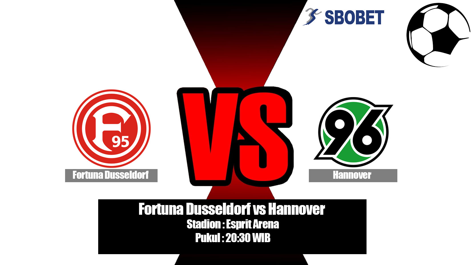 Prediksi Bola Fortuna Dusseldorf vs Hannover 18 Mei 2019
