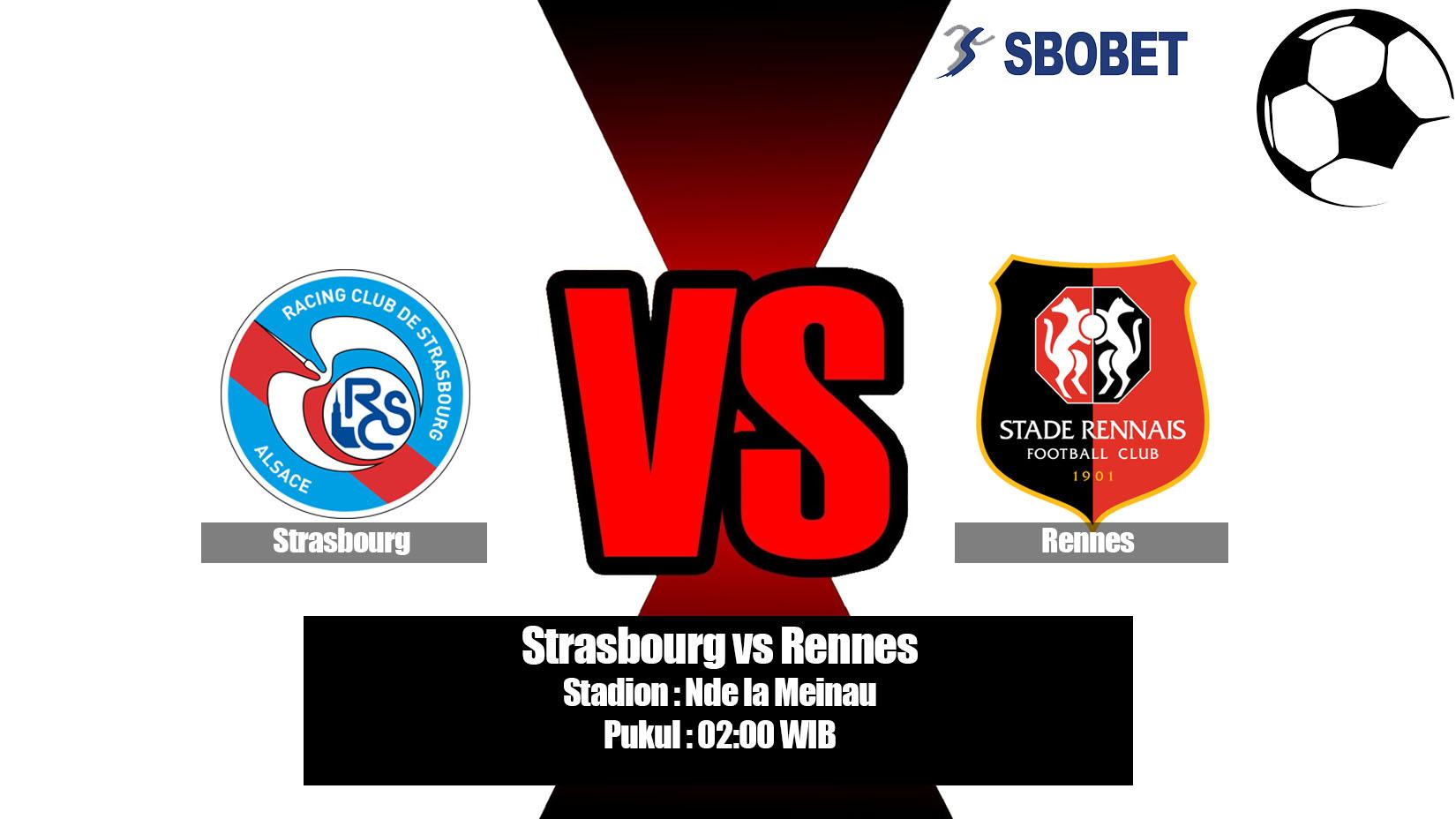 Prediksi Bola Strasbourg vs Rennes 19 Mei 2019