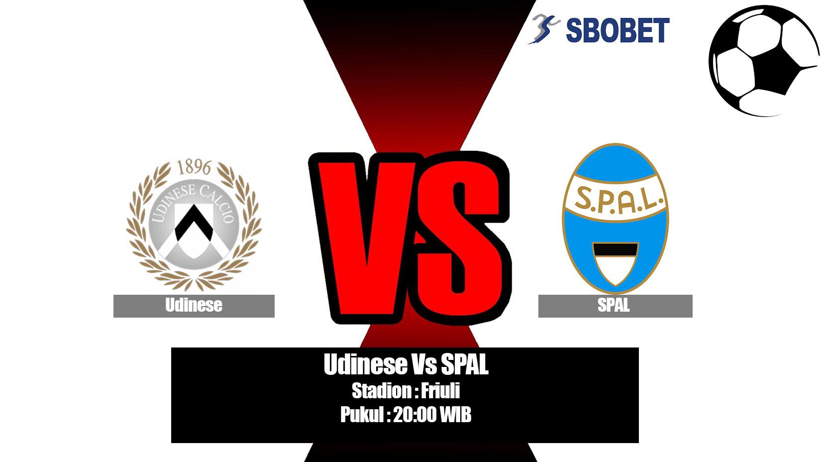 Prediksi Bola Udinese Vs SPAL 18 Mei 2019