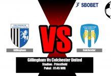 Prediksi Gillingham Vs Colchester United 04 September 2019