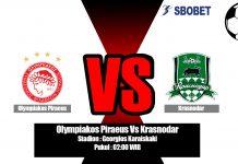 Prediksi Olympiakos Piraeus Vs Krasnodar 22 Agustus 2019