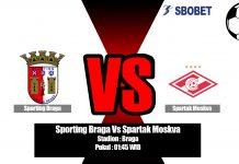 Prediksi Sporting Braga Vs Spartak Moskva 23 Agustus 2019