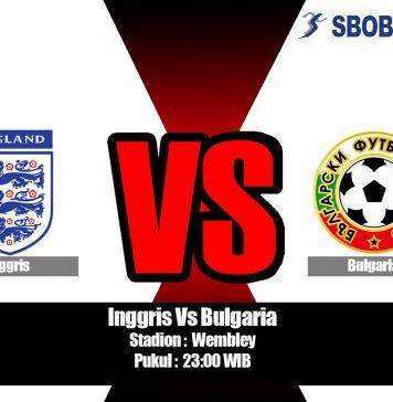 Prediksi Inggris Vs Bulgaria 07 September 2019