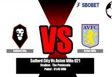 Prediksi Salford City Vs Aston Villa U21 04 September 2019